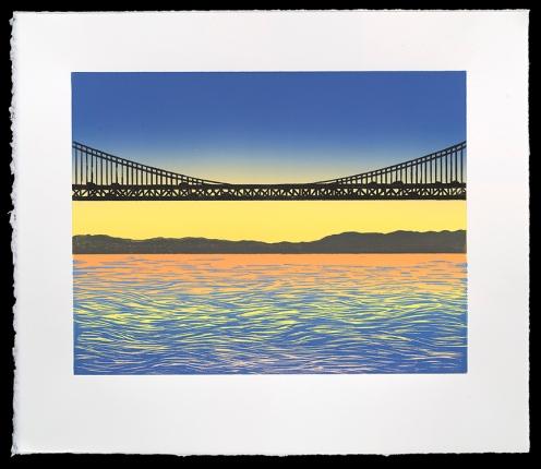 "Bay Bridge #3 (10"" x 13""), $300 (edition of 10)"